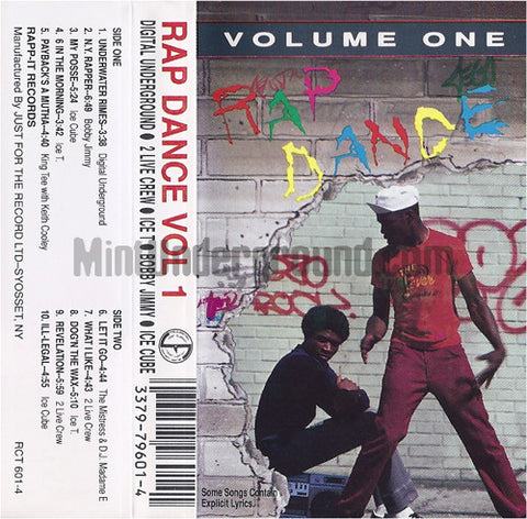 Various Artists: Rap Dance Vol 1: Cassette