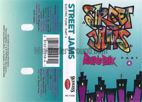 Various Artists: Street Jams: Electric Funk - Part 4: Cassette