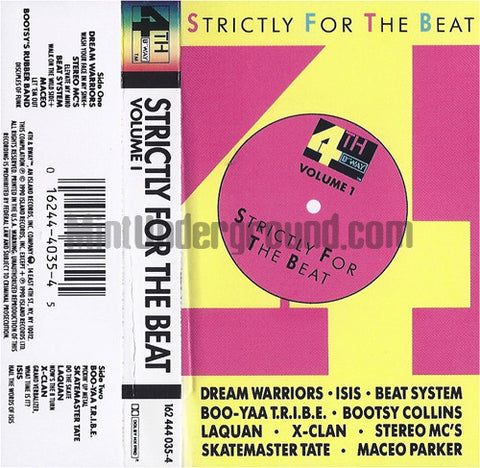 Various Artists: Strictly For The Beat: Volume I: Cassette