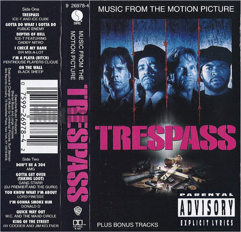 Various Artists: Trespass: Music From The Motion Picture: Cassette