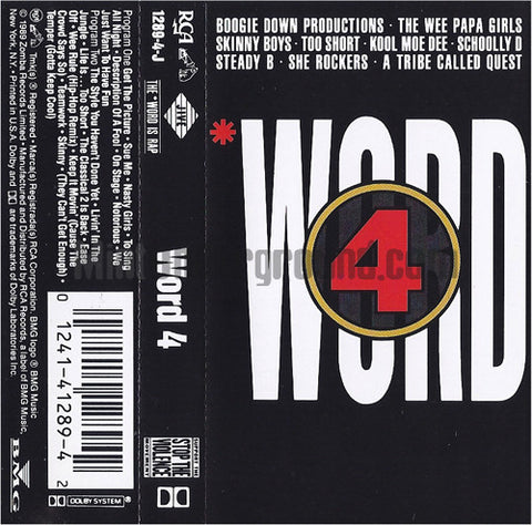 Various Artists: Word 4: Cassette