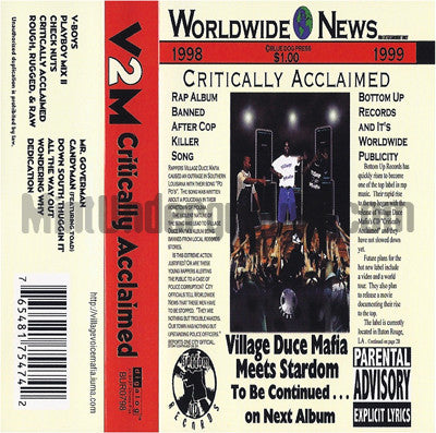 Village Duce Mafia: Critically Acclaimed: Cassette