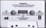 Warren G: Do You See/What's Next: Cassette Single