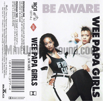 Wee Papa Girls: Be Aware: Cassette