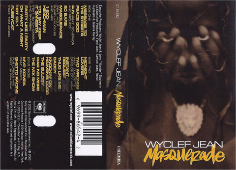 Wyclef Jean: Masquerade: Cassette