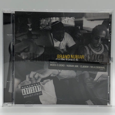 Brand Nubian: Everything Is Everything: CD