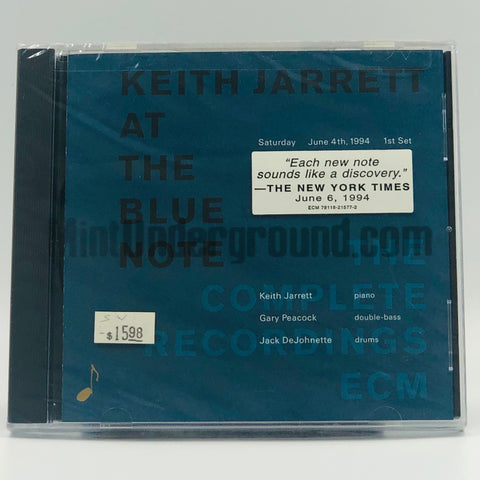 Keith Jarrett: At The Blue Note (The Complete Recordings ECM) 1st Set: CD