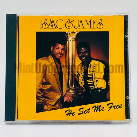 Isaac & James: He Set Me Free: CD