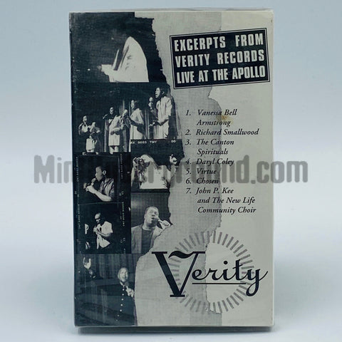 Various Artists: Verity Records: Excerpts From Verity Records Live At The Apollo: Cassette
