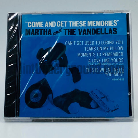 Martha Reeves And The Vandellas: Come And Get These Memories: CD