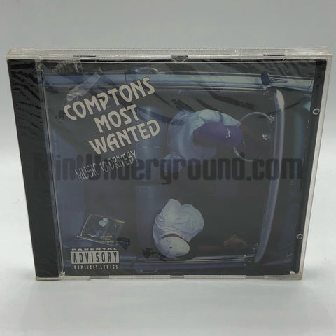 Comptons Most Wanted: Music To Driveby: CD