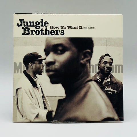 Jungle Brothers: How Ya Want It (We Got It)/The Jungle The Brother: CD Single