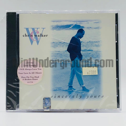 Chris Walker: Sincerely Yours: CD