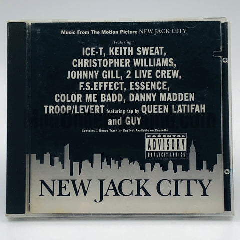 Varios Artists: Music From The Motion Picture New Jack City: CD