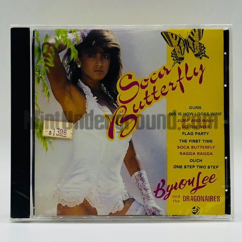 Byron Lee & The Dragonaires: Soca Butterfly: CD