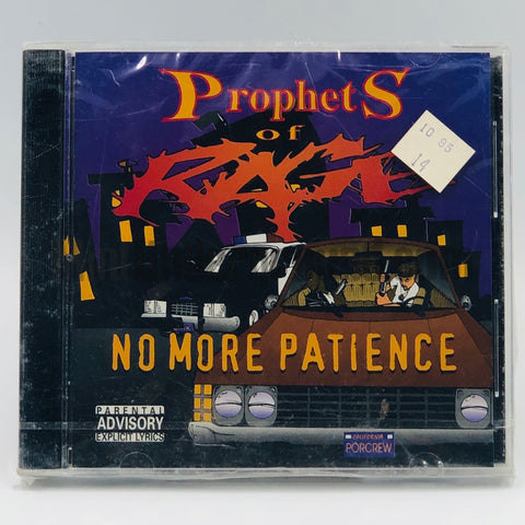 Prophets Of Rage: No More Patience: CD
