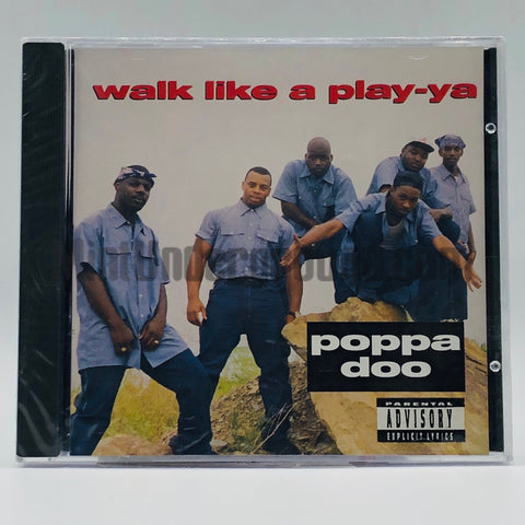Poppa Doo: Walk Like A Playa-Ya: CD Single