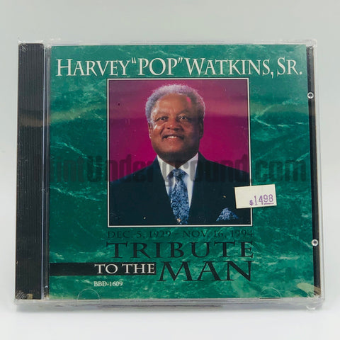 "Harvey ""Pops"" Watkins, Sr: Tribute To The Man: CD"