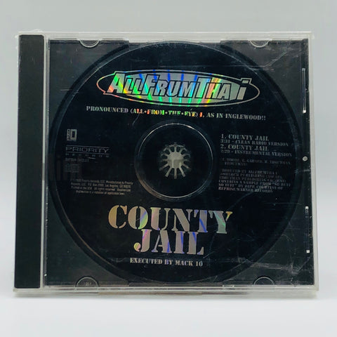 AllFrumTha I: County Jail: CD Single: Promo