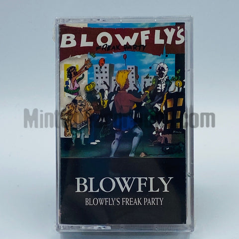 Blowfly: Blowfly's Freak Party: Cassette