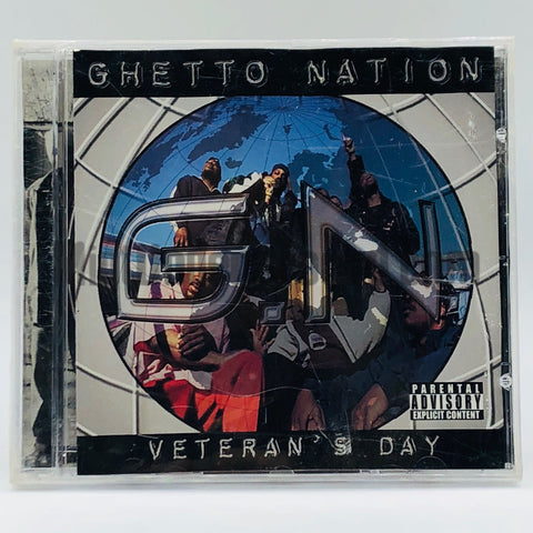 Ghetto Nations: Veteran's Day: CD