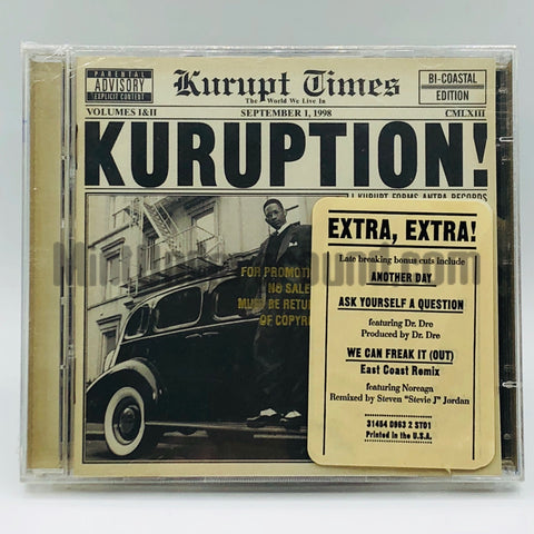 Kurupt: Kuruption: CD