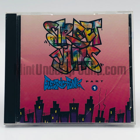 Various Artists: Street Jams: Electric Funk Part 1: CD