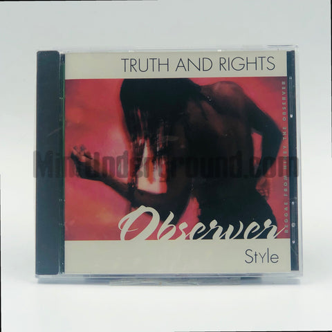 Niney The Observer: Truth And Rights, Observer Style: CD