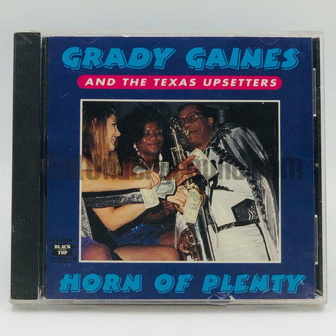 Grady Gaines and The Texas Upsetters: Horn Plenty: CD