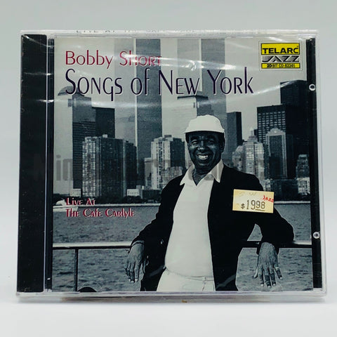 Bobby Short: Songs Of New York (Live At The Cafe Carlyle): CD