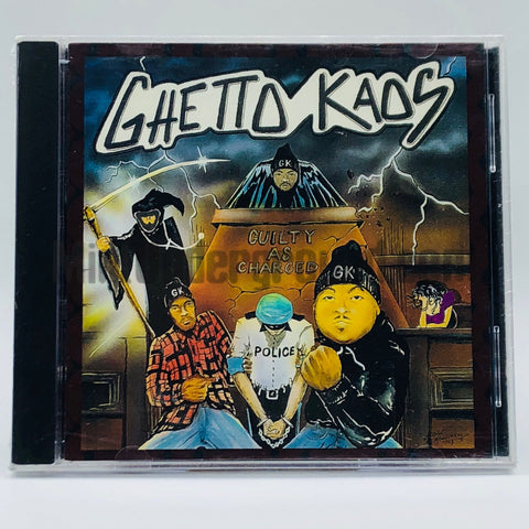 Ghetto Kaos: Guilty As Charged: CD