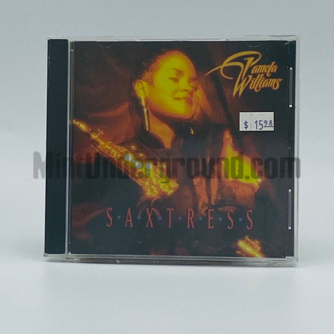 Pamela Williams: Saxtress: CD