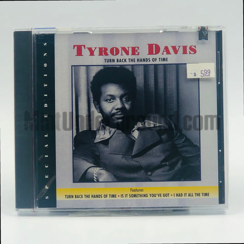 Tyrone Davis: Turn Back The Hands Of Time: CD