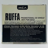 Ruffa: Representin: CD Single: Promo