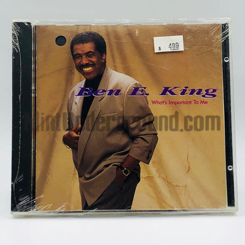 Ben E. King: What's Important To Me: CD