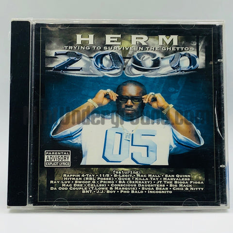 Herm: Trying To Survive In The Ghetto 2000: CD