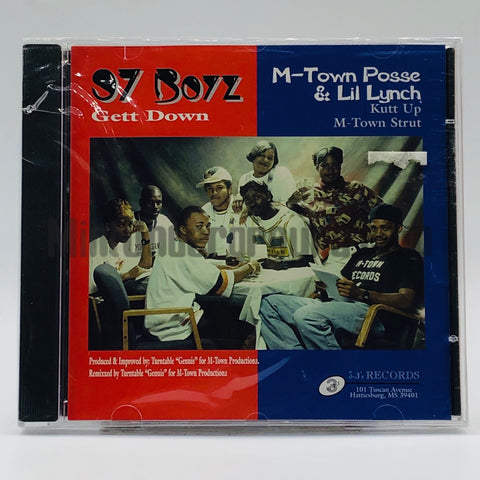 97 Boyz: Get Down: CD Single