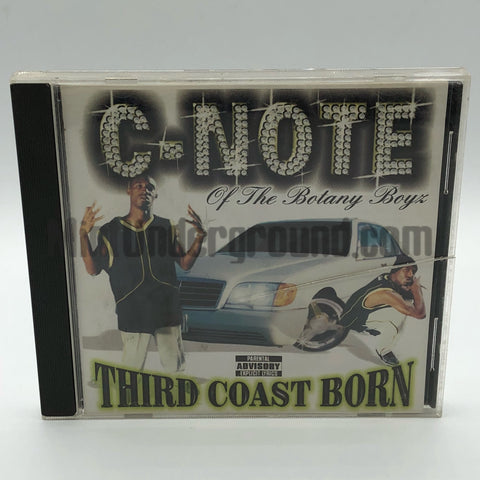C-Note: Third Coast Born: CD
