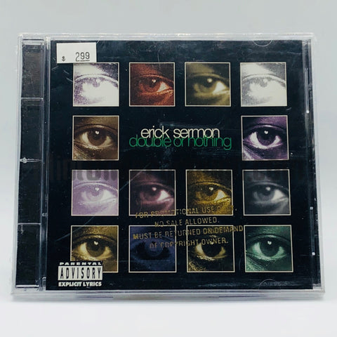 Erick Sermon: Double Or Nothing: CD