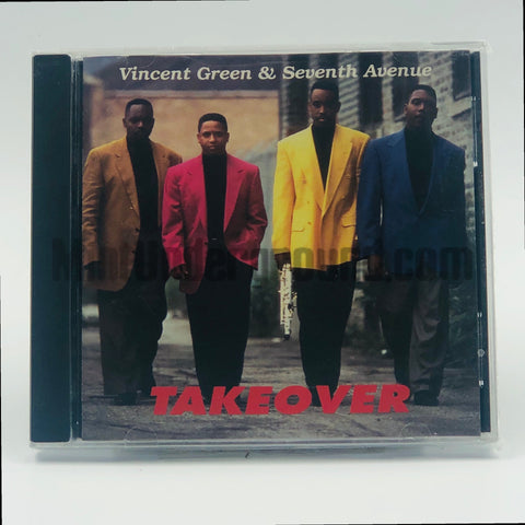 Vincent Green & Seventh Avenue: Takeover: CD