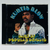 Kurtis Blow: Back By Popular Demand: CD