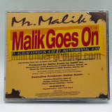 Mr. Malik: Malik Goes On: CD Single