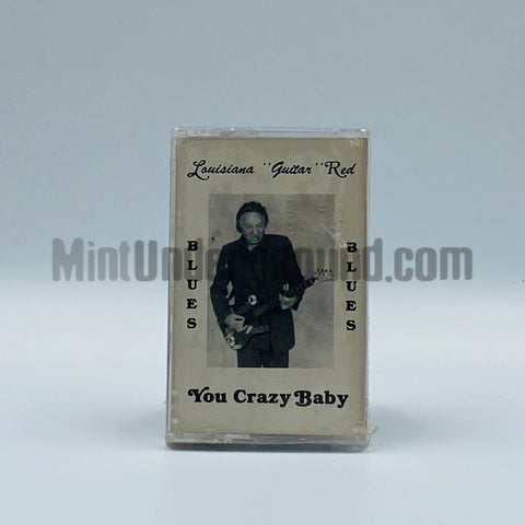 "Lousiana ""Guitar"" Red: You Crazy Baby: Cassette"