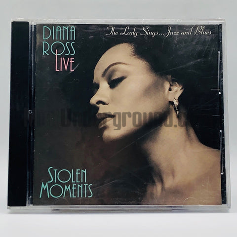 Diana Ross: Live: Stolen Moments: The Lady Sings The Blues and Jazz: CD