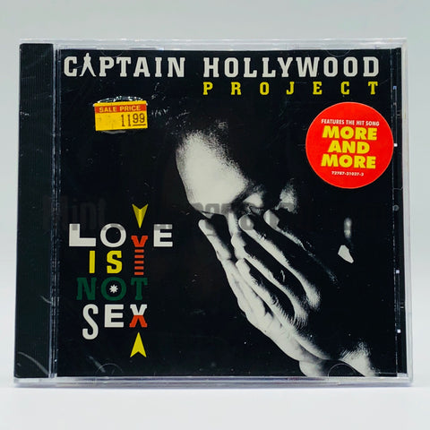 Captain Hollywood Project: Love Is Not Sex: CD
