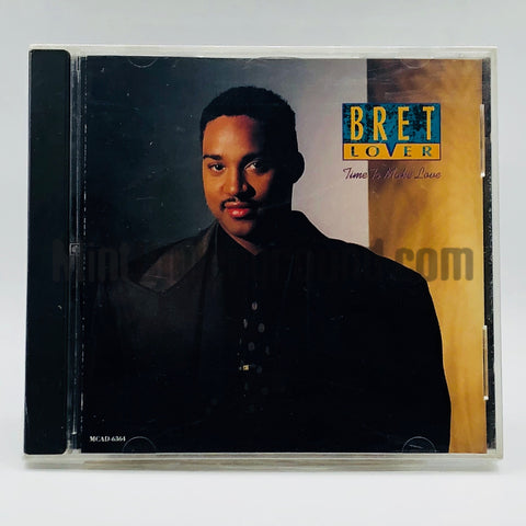 Bret Lover: Time To Make Love: CD