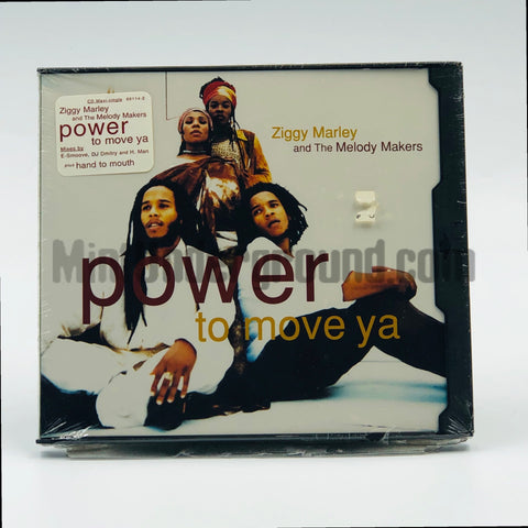 Ziggy Marley And The Melody Makers: Power To Move Ya: CD Single