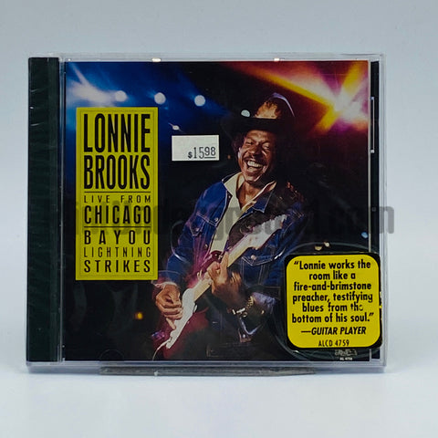 Lonnie Brooks: Live From Chicago- Bayou Lightning Strikes: CD