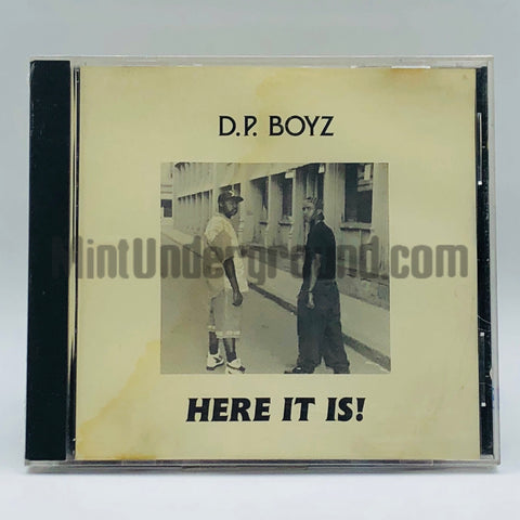 D.P. Boyz: Here It Is: CD
