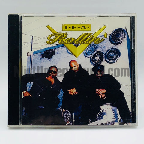I.F.A./IFA/International Family Affair: Rollin': CD: Promo